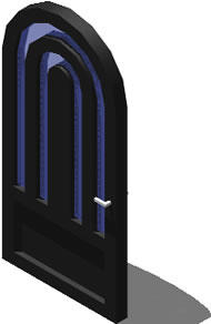 imagen Puerta en 3d, en Puertas 3d - Aberturas