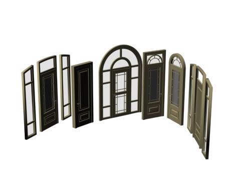 imagen Puerta, en Puertas 3d - Aberturas