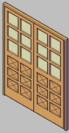 imagen Puerta tab 1.6 mixta, en Puertas 3d - Aberturas