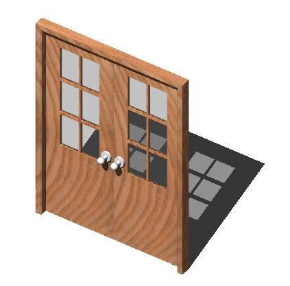Planos de Puerta2hojas3d, en Puertas 3d – Aberturas