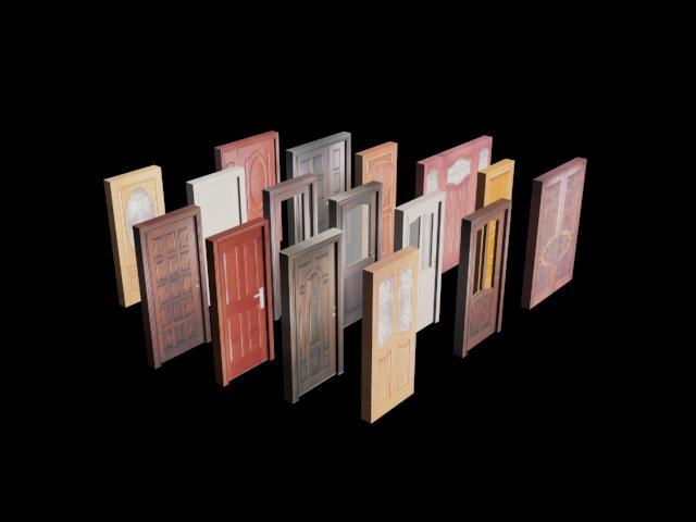 Planos de Puertas 3d, en Puertas 3d – Aberturas