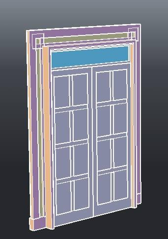 imagen Puertas- casement, en Puertas 3d - Aberturas