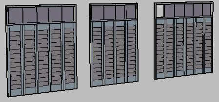 imagen Puertas de closet, en Puertas 3d - Aberturas
