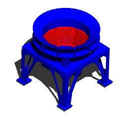 Planos de Pulverizador de grumos de arenas 3d, en Maquinaria – proyectos varios – Máquinas instalaciones