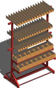 Planos de Rack, en Estanterías y modulares – Muebles equipamiento