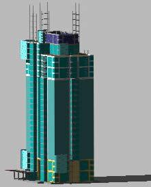 imagen Rascacielos 3d, en Obras famosas - Proyectos