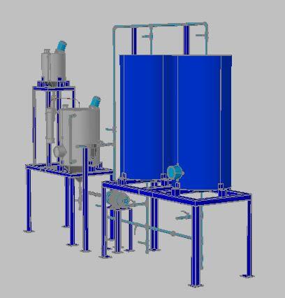 imagen Reactor para la producción de biodiesel a pequeña escala, en Maquinaria - proyectos varios - Máquinas instalaciones