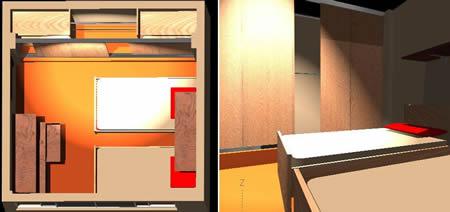 imagen Recamara, en Dormitorios - Muebles equipamiento
