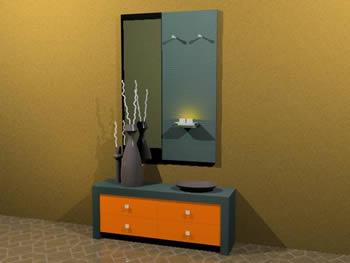 Recibidor 3d, en Muebles varios – Muebles equipamiento