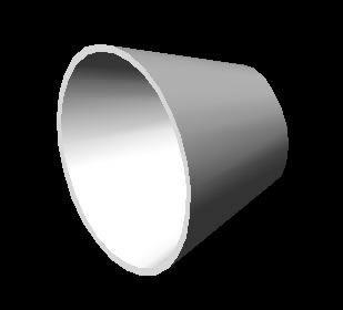 Planos de Reduccion concentrica diametro 10×5, en Válvulas tubos y piezas – Máquinas instalaciones