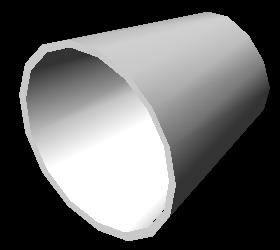 Planos de Reduccion concentrica diametro 6×3  3d, en Válvulas tubos y piezas – Máquinas instalaciones