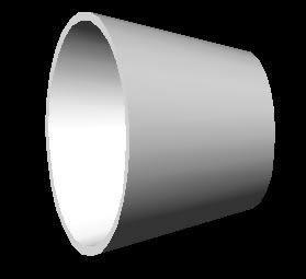 Planos de Reduccion concentrica diametro 8×5 material acero al carbono;, en Válvulas tubos y piezas – Máquinas instalaciones