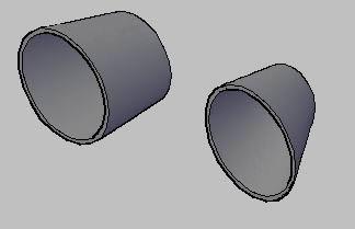 imagen Reducciones excentricas  3d, en Válvulas tubos y piezas - Máquinas instalaciones