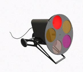 Reflector 3d, en Luminarias – Muebles equipamiento