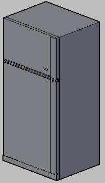 Planos de Refrigerador 3d, en Electrodomésticos – Muebles equipamiento