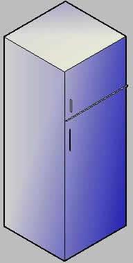 imagen Refrigerador 3d, en Electrodomésticos - Muebles equipamiento