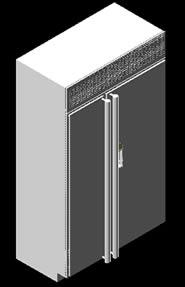 Planos de Refrigerador sub-zero 690 – 3d, en Electrodomésticos – Muebles equipamiento