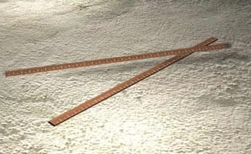 Regla 3d – metro de madera, en Herramientas – Obradores