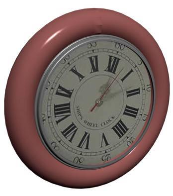 imagen Reloj 3d, en Oficinas y laboratorios - Muebles equipamiento