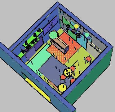 Planos de Remodelacion local comercial – 3d, en Comercios varios – Proyectos