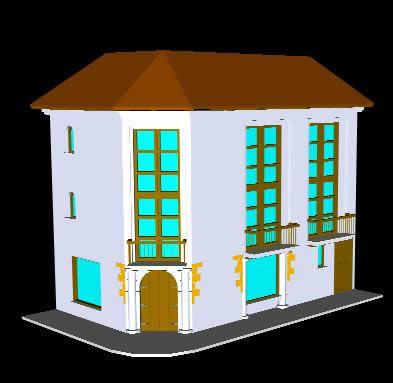Planos de Remodelacion vivienda – casa barniz, en Vivienda unifamiliar 3d – Proyectos