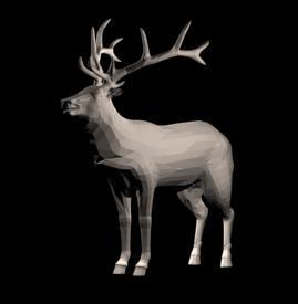 imagen Reno 3d, en Animales 3d - Animales