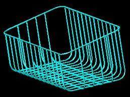 imagen Repisa rejilla 3d, en Estanterías y modulares - Muebles equipamiento
