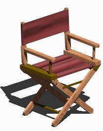 imagen Reposera 3d, en Sillas 3d - Muebles equipamiento