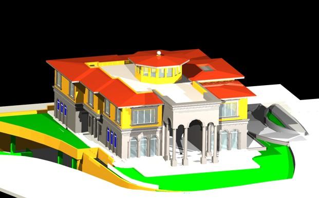 Planos de Residencia 3d, en Vivienda unifamiliar 3d – Proyectos