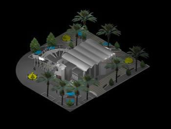 Planos de Restaurant micohami – hamnet, en Casinos hoteles y restaurantes – Proyectos
