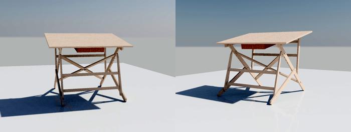 Planos de Restirador 3d, en Lecciones autocad – Dibujando con autocad