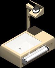 Planos de Retroproyector, en Educación – Muebles equipamiento