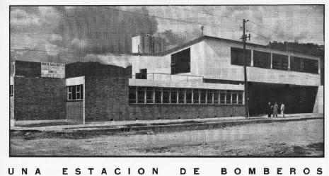 Revista proa 040 – estación de bomberos, en Estaciones de policía bomberos cuarteles – Proyectos