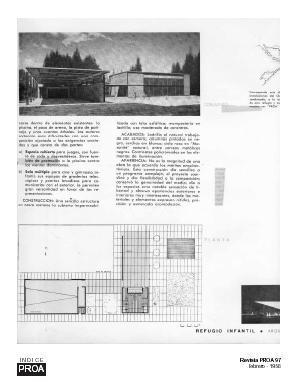 imagen Revista proa 97 - refugio y teatro infantil febrero de 1956, en Turismo y recreación - Proyectos