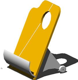 Planos de Revistero en 3d, en Muebles varios – Muebles equipamiento