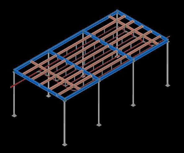 Planos de Rielera – matadero 3d, en Construcciones especiales – Granjas e inst. agropecuarias