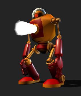 Robot 3d, en Juegos – Muebles equipamiento