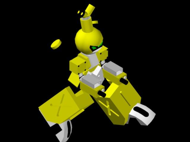 Planos de Robot, en Ejercicios varios – Dibujando con autocad