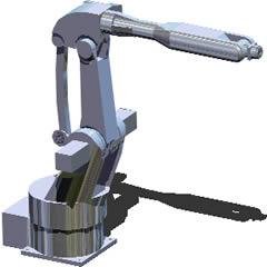 imagen Robot mediano en 3d, en Maquinaria e instalaciones industriales - Máquinas instalaciones