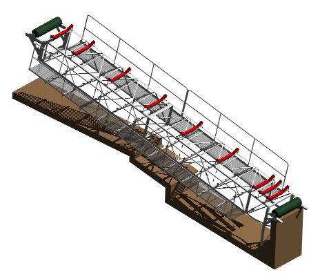 Planos de Rodillos de carga de acero 3d, en Estructuras de acero – Detalles constructivos