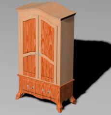 imagen Ropero 3d, en Estanterías y modulares - Muebles equipamiento