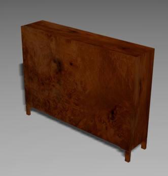 Ropero 3d, en Estanterías y modulares – Muebles equipamiento