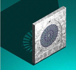 imagen Roseton, en Ventanas 3d - Aberturas