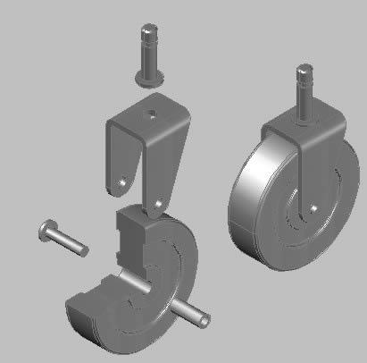 Planos de Rueda 3d, en Válvulas tubos y piezas – Máquinas instalaciones