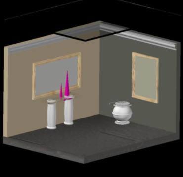imagen Sala 3d, en Salas de estar y tv - Muebles equipamiento