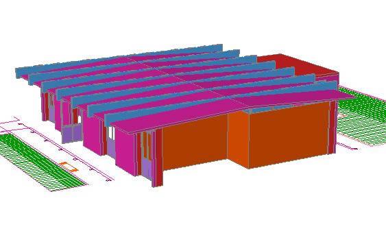 Planos de Sala de estudios 3d, en Proyectos varios – Proyectos