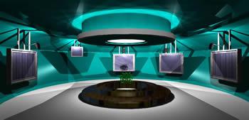 Planos de Sala de exposición 3d, en Centros culturales salas de exposición museos y stands – Proyectos