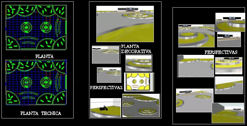 Planos de Sala de exposicion de motos, en Proyectos varios – Proyectos