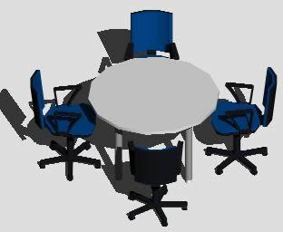 Planos de Sala de reuniones, en Oficinas bancos y administración – Proyectos