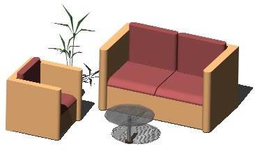Planos de Sala familiar 3d, en Mesas y juegos de comedor 3d – Muebles equipamiento